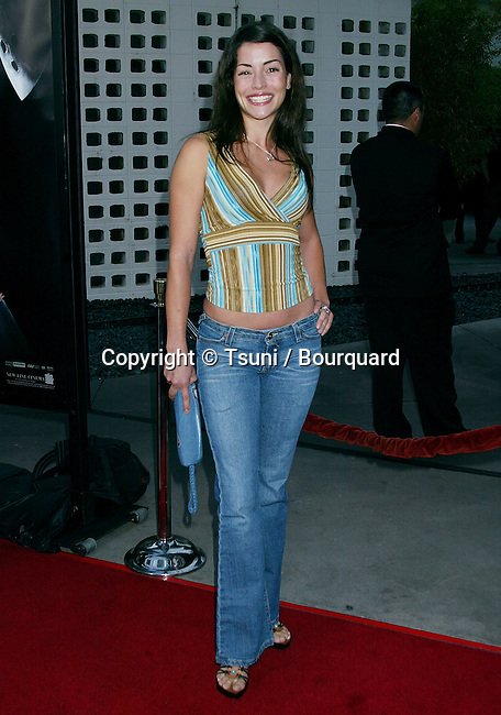 """Emmanuel Vaugier arriving at the """" FREDDY VS JASON PREMIERE """" at the Arclight Theatre in Los Angeles. August 13, 2003."""