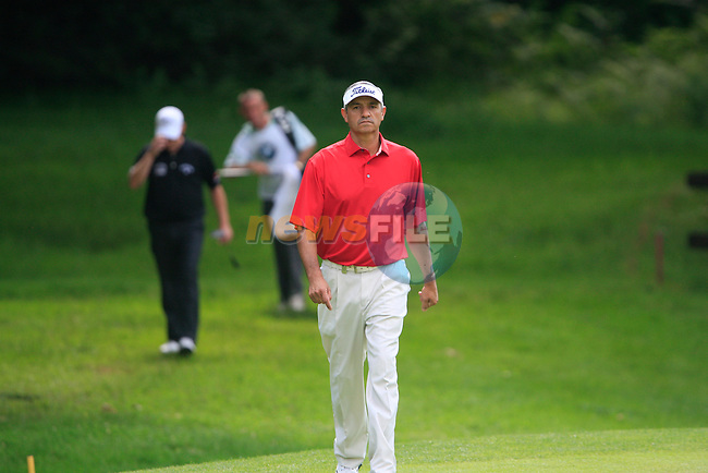 cesar Monasterio (ARG) walks onto the 5th green during Day 3 of the BMW Italian Open at Royal Park I Roveri, Turin, Italy, 11th June 2011 (Photo Eoin Clarke/Golffile 2011)
