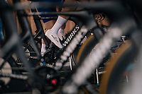 Team Quickstep Floors warming up<br /> <br /> UCI MEN'S TEAM TIME TRIAL<br /> Ötztal to Innsbruck: 62.8 km<br /> <br /> UCI 2018 Road World Championships<br /> Innsbruck - Tirol / Austria