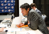 Brian Ching. The NWSL draft was held at the Pennsylvania Convention Center in Philadelphia, PA, on January 17, 2014.