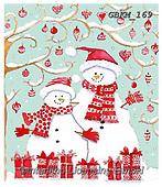 Kate, CHRISTMAS SANTA, SNOWMAN, WEIHNACHTSMÄNNER, SCHNEEMÄNNER, PAPÁ NOEL, MUÑECOS DE NIEVE, paintings+++++Christmas page 53 1,GBKM169,#x#