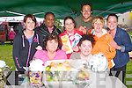 FAMILY FUN DAY: Enjoying the Family Fun Day in aid St Bridget's Community Centre at Marian Park, Tralee on Thursday pictured Sophie Conway, Ajoke Akintobe, Sandra O'Shea, Ronnie Lawlor, Will Dribiero, A?ine Ni? Loingsigh, Antoinette O'Sullivan and Samantha Houlihan.
