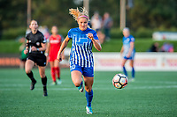 Boston, MA - Sunday September 10, 2017: Rosie White during a regular season National Women's Soccer League (NWSL) match between the Boston Breakers and Portland Thorns FC at Jordan Field.