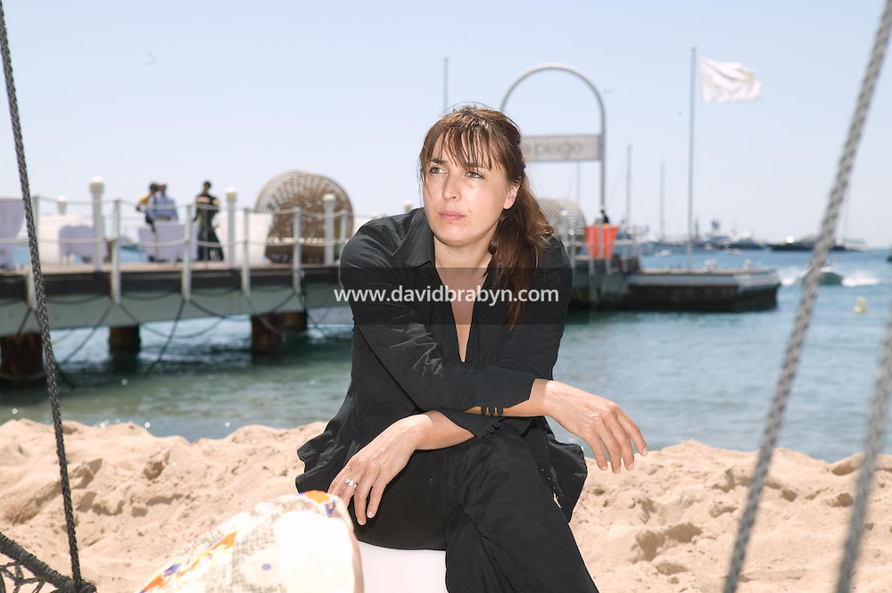 Sandrine Veysset, dejeuner de presse, 20 ans de la Fondation Groupama-Gan pour le Cinema, Cannes, France, 18 mai 2007.