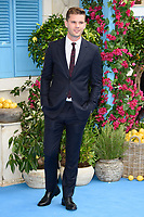 """Jeremy Irvine<br /> arriving for the """"Mama Mia! Here We Go Again"""" World premiere at the Eventim Apollo, Hammersmith, London<br /> <br /> ©Ash Knotek  D3415  16/07/2018"""