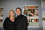 "Guiding Light Tom Pelphrey poses with his mom Laurie as he stars in the film and at the premiere of ""Excuse Me For Living"" on October 12, 2012 at AMC Loews Village 7, New York City, New York.  (Photo by Sue Coflin/Max Photos)"
