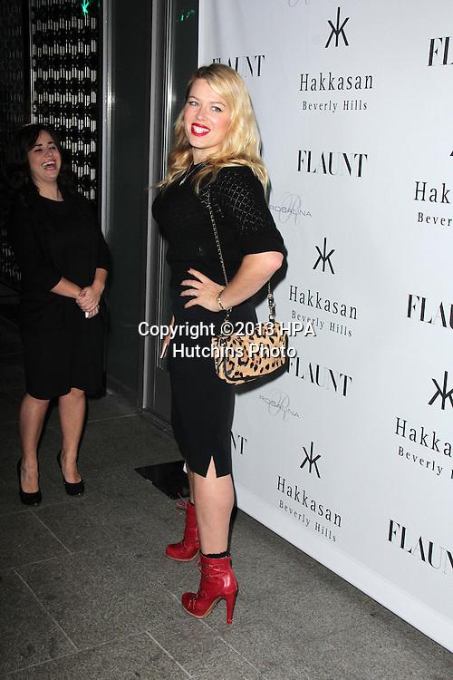 LOS ANGELES - NOV 7:  Amanda De Cadenet at the Flaunt Magazine November Issue Party at Hakkasan on November 7, 2013 in Beverly Hills, CA\