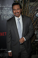 www.acepixs.com<br /> January 11, 2017  New York City<br /> <br /> Aasif Mandvi attending Netflix&rsquo;s world premiere of Lemony Snicket&rsquo;s 'A Series of Unfortunate Events' at AMC Lincoln Square on January 11, 2017 in New York City.<br /> <br /> <br /> Credit: Kristin Callahan/ACE Pictures<br /> <br /> <br /> Tel: 646 769 0430<br /> Email: info@acepixs.com