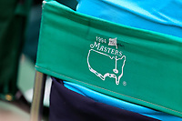 A 94 masters chair in use during the final  round at the Augusta National Womans Amateur 2019, Augusta National, Augusta, Georgia, USA. 06/04/2019.<br /> Picture Fran Caffrey / Golffile.ie<br /> <br /> All photo usage must carry mandatory copyright credit (© Golffile | Fran Caffrey)