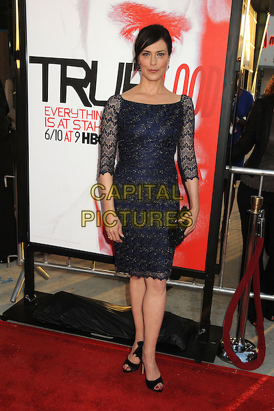 "Michelle Forbes.HBO's ""True Blood"" Season 5 Premiere, Hollywood, California, USA..May 30th, 2012.full length blue lace dress .CAP/ADM/BP.©Byron Purvis/AdMedia/Capital Pictures."