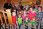 Excitement amongst the young children who came to the Top of Coom last Thursday to see the Sam Maguire. <br /> Front L-R Kieran O'Donoghue, Daniel Creedon, Johnny and Matthew Twomey. <br /> Second row L-R Leon O'Neill, Helena O'Donoghue, Ella Healy, Kayla Dineen, Orla O'Brien and Clodagh Casey. <br /> Third Row  L-R Helena O'Donoghue, Niall Twomey, Erin O'Neill, Seamus O'Donoghue, Ava Casey and Darragh Creedon. <br /> Back L-R John Creedon, Aidan O'Mahony Katelyn O'Donoghue and Eileen Creedon.