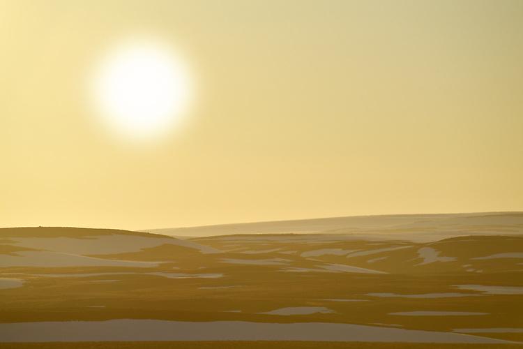 Midnight sun - Arctic Norway