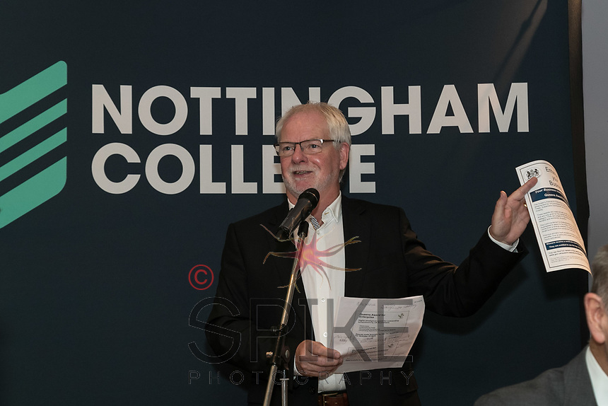 Mick Burrows, Deputy Lord Lieutenant of Nottinghamshire