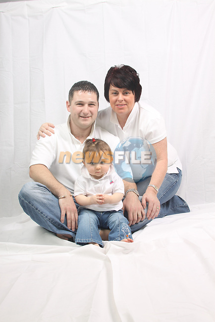 The Dowd Family..Photo: Fran Caffrey/www.newsfile.ie...