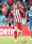 Atletico de Madrid's Antoine Griezmann during La Liga match. February 14,2016. (ALTERPHOTOS/Acero)