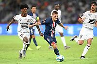 06 MARCO VERRATTI (PSG) - 18 EDUARDO CAMAVINGA (REN)<br /> Shenzen <br /> 03/08/2019 Football Supercoppa di Francia 2019/2020 <br /> PSG Paris Saint Germain - Rennes <br /> Foto Philippe LECOEUR / Panoramic/insidefoto <br /> ITALY ONLY