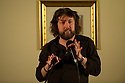 Comedian, Keith Farnan, at the Sitting Room Comedy Club, Harrogate.