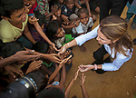23.10.2017; Amman, Jordan: QUEEN RANIA<br /> visited Kutupalong Refugee Camp and its surrounding in the Cox&rsquo;s Bazar region of Bangladesh, to meet with some of  Muslim Rohingyas who have fled Myanmar&rsquo;s Rakhine State.<br /> In a statement she called for an &ldquo;effective, quick and generous&rdquo; response from the international community to alleviate the suffering of Myanmar&rsquo;s Muslim Rohingya minority.<br /> Over 600,000 of the Rohingya minority have fled Myanmar since August, in what is now acknowledged as an ethnic cleansing of the Rohingya Muslims.<br /> Mandatory Photo Credit: &copy;RHC/NEWSPIX INTERNATIONAL<br /> <br /> IMMEDIATE CONFIRMATION OF USAGE REQUIRED:<br /> Newspix International, 31 Chinnery Hill, Bishop's Stortford, ENGLAND CM23 3PS<br /> Tel:+441279 324672  ; Fax: +441279656877<br /> Mobile:  07775681153<br /> e-mail: info@newspixinternational.co.uk<br /> Usage Implies Acceptance of Our Terms &amp; Conditions<br /> Please refer to usage terms. All Fees Payable To Newspix International