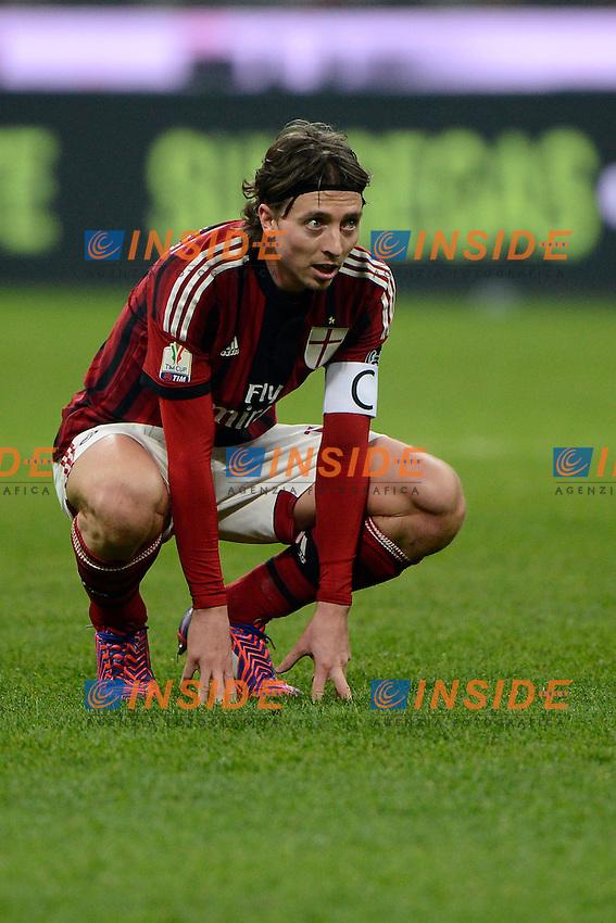 Riccardo Montolivo Milan<br /> Milano 27-01-2015 Stadio Giuseppe Meazza - Football Calcio Coppa Italia Milan - Lazio. Foto Giuseppe Celeste / Insidefoto