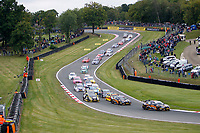 Round 10 of the 2018 British Touring Car Championship. Race two start.