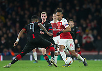 Arsenal's Pierre - Emerick Aubameyang during the UEFA Europa League match between Arsenal and Rennes at the Emirates Stadium, London, England on 14 March 2019. Photo by Andrew Aleksiejczuk / PRiME Media Images.