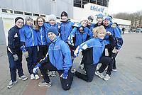 SCHAATSEN: HEERENVEEN: IJsstadion Thialf, 03-2004, VikingRace, Team Finland, ©foto Martin de Jong