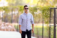 San Jose, CA - Sunday October 21, 2018: Chris Wondolowski prior to a Major League Soccer (MLS) match between the San Jose Earthquakes and the Colorado Rapids at Avaya Stadium.