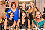 Oasis at Manor West enjoying their Christmas party on Saturday night at the Stone house front l-r  Ayesha Jamal, Colette Leane and Marguerite Trant. Back l-r  Janice O'Reilly, Tara O'Shea and Michaela Horan.