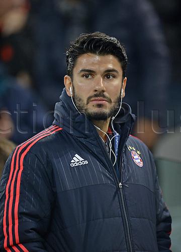 23.02.2016. Turin, Italy. UEFA Champions League football. Juventus versus Bayern Munich.  Serdar Tasci (FC Bayern Munich)