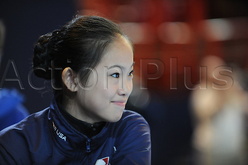 Caroline Zhang (USA), November 15, 2009 - Figure Skating : ISU Grand Prix of Figure Skating 2009/2010 the Eric Trophy Bompard 2009, Practice at Palais Omnisports de Paris Bercy in Paris, France (Photo by Atsushi Tomura/Actionplus)