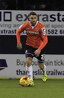 Josh McQuoid of Luton Town in action during the Sky Bet League 2 match between Luton Town and Wycombe Wanderers at Kenilworth Road, Luton, England on 26 December 2015. Photo by Liam Smith.