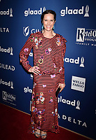 BEVERLY HILLS, CA - APRIL 12: Actress/director/producer Katie Aselton attends the 29th Annual GLAAD Media Awards at The Beverly Hilton Hotel on April 12, 2018 in Beverly Hills, California.<br /> CAP/ROT/TM<br /> &copy;TM/ROT/Capital Pictures