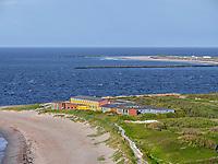 Blick vom Klippenrandweg auf Nordstrand, Insel Helgoland, Schleswig-Holstein, Deutschland, Europa<br /> Northern Beach seen from Klippenrandweg, Helgoland island, district Pinneberg, Schleswig-Holstein, Germany, Europe
