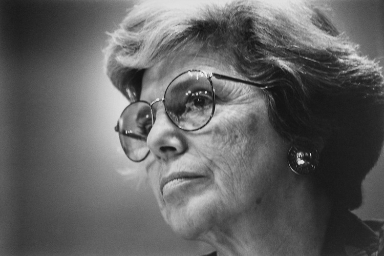 Rep. Marge Roukema, R-N.J., in October 1993. (Photo by Maureen Keating/CQ Roll Call via Getty Images)