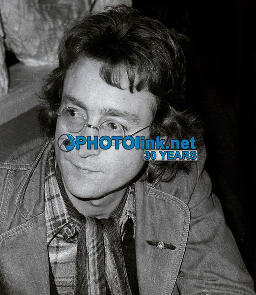 John Lennon Undated<br /> Photo By John Barrett/PHOTOlink