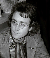 John Lennon Undated<br /> Photo By John Barrett/PHOTOlink
