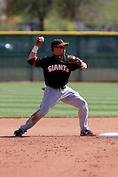 Juan Perez  - San Francisco Giants - 2009 spring training.Photo by:  Bill Mitchell/Four Seam Images