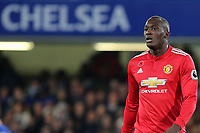 Romelu Lukaku of Manchester United during Chelsea vs Manchester United, Premier League Football at Stamford Bridge on 5th November 2017