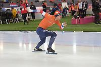 SPEEDSKATING: HAMAR: Vikingskipet, 28-02-2020, ISU World Speed Skating Championships, Sprint, 500m Men, Kai Verbij (NED), ©photo Martin de Jong