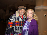 Larry Storch (F Troop) and Elizabeth Shepherd (All My Children) at Chiller Theatre - Toy, Model and Film Expo was held over the weekend - October 27, 2013 at the Sheraton Hotel, Parsippany, New Jersey -  (Photo by Sue Coflin/Max Photos)