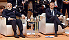 07.07.2017; Hamburg, Germany: FRENCH PRESIDENT EMANNUEL MACRON AND INDIAN PM NARENDRA MODI <br /> meet at the G20 Summit in Hamburg Germany.<br /> Mandatory Credit Photo: &copy;NEWSPIX INTERNATIONAL<br /> <br /> IMMEDIATE CONFIRMATION OF USAGE REQUIRED:<br /> Newspix International, 31 Chinnery Hill, Bishop's Stortford, ENGLAND CM23 3PS<br /> Tel:+441279 324672  ; Fax: +441279656877<br /> Mobile:  07775681153<br /> e-mail: info@newspixinternational.co.uk<br /> **All Fees Payable To Newspix International**