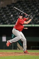 Second Baseman/Third Baseman Joseph Koehler (11) of J.W. Mitchell High School participates in the Team One Futures Game East at Roger Dean Stadium in Jupiter, Florida September 25, 2010..  Photo By Mike Janes/Four Seam Images