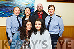 Veronica Slomiany, who is nominated for Garda Youth Reach Award at the Garda Youth Achievement Awards in the Ballyroe Heights Hotel on Friday night. <br /> Seated l to r: Veronica Slomiany and Lorraine O'Riordan.<br /> Back l to r: Gda Liz Twomey, Geraldine O'Halloran (KDYS), Jordan Clifford and Gda Cecila Scanlon.