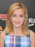 Kiernan Shipka at The Weinstein Company World Premiere of Spy Kids: All the Time in the World in 4 held at The Regal Cinames,L.A. Live in Los Angeles, California on July 31,2011                                                                               © 2011 Hollywood Press Agency