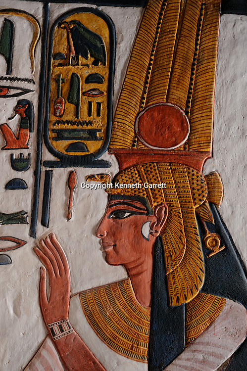 Zahi Hawass Secret Egypt Travel Guide; Egypt; archaeology; Luxor; West Bank; Valley of the Queens; Tomb of Nefertari, New Kingdom, Wife of Ramses II, Ramesses the Great