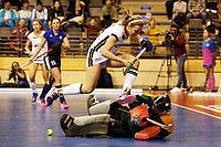 Viktoria Huse, goalkeeper Vikgoaliia Aleksandrina /   /        /   <br /> / Sport / Hockey Hnhockey / World Championships Weltmeisterschaft Damen /  2017/2018 / 07.02.2018 / GER BRGermany vs. Russland  *** Local Caption *** © pixathlon<br /> Contact: +49-40-22 63 02 60 , info@pixathlon.de