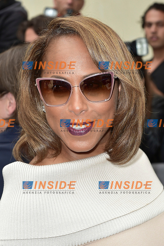 Marjorie Harvey  <br /> Dior fashion show arrivals - Paris - 30/09/2016