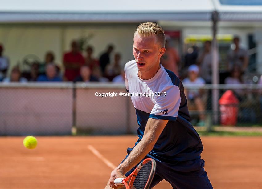 The Hague, Netherlands, 11 June, 2017, Tennis, Play-Offs Competition, Roderick Franken , Heerhugowaard<br /> Photo: Henk Koster/tennisimages.com