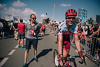 Tony Martin (DEU/Katusha-Alpecin) post-race<br /> <br /> Stage 2: Mouilleron-Saint-Germain &gt; La Roche-sur-Yon (183km)<br /> <br /> Le Grand D&eacute;part 2018<br /> 105th Tour de France 2018<br /> &copy;kramon