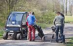 VELSEN - Golfbaan Spaarnwoude. FOTO KOEN SUYK